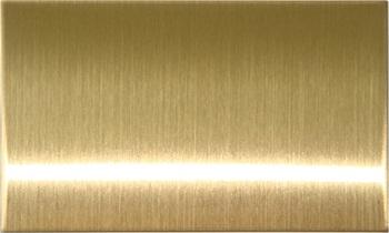 Лист анодированный шлифованный Золото